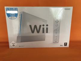 Nintendo wii wit in nette staat  in doos