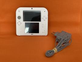 Nintendo 2DS rood/wit + Mario bros 2 in nette staat
