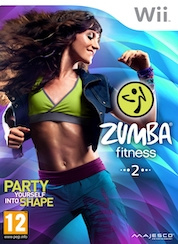 Zumba fitness 2 + fitness belt