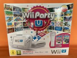 Nintendo wii U wit - wii party U basic pack  (gamepad in zeer nette staat)