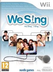 We sing + microfoon