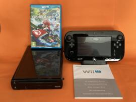 Nintendo wii U zwart 32GB compleet - Mario kart 8 bundel (nette staat)