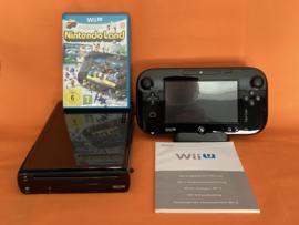 Nintendo wii U zwart 32GB compleet - nintendoland bundel (nette staat)