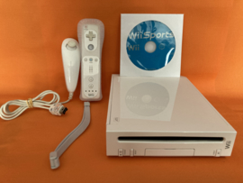 Nintendo wii wit compleet in nette staat - wii sports bundel (CD)