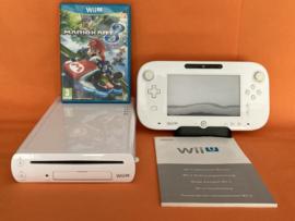 Nintendo wii U wit compleet - Mario kart 8 bundel (nette staat)