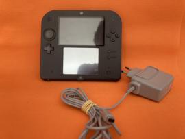 Nintendo 2DS blauw/zwart  in nette staat