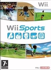 Wii sports kartonnen hoes