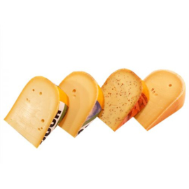 4 stukken kaas