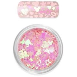 Moyra Rainbow love Glitter Mix no 1 rose
