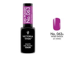 Victoria Vynn™ Salon Gel Polish Color 063 - 8 ml. - Violet Shock