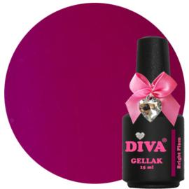 Diva Gellak Bright Plum 15 ml