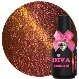 Diva Gel Lak Chameleon Cat Eye Burning Love 15 ml