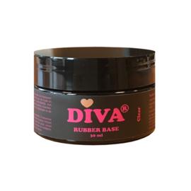Diva Gellak Rubber Base Coat Clear POT 30 ml