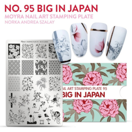 Moyra Stamping Plaat 95 Big in Japan
