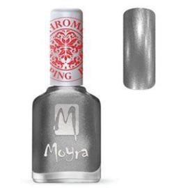 Moyra Stamping Nail Polish Chrome Silver 12ml sp25
