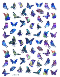 Butterfly Nail art Stickers 3