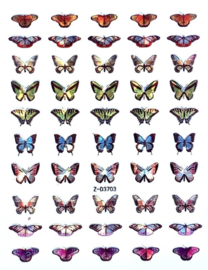 Butterfly Nail art Stickers 11