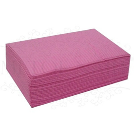 Table towels pink 125 stuks