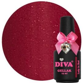 Diva Gellak Lady in Red 15 ml