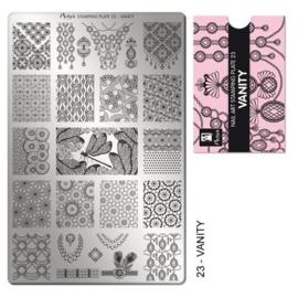 Moyra Stamping Plaat 23 Vanity