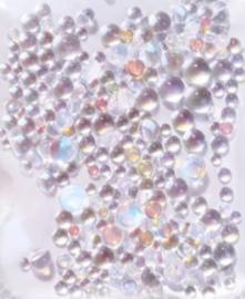 PNS Rhinestone Mermaid Glass 11