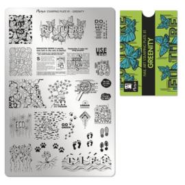 Moyra Stamping Plaat 81 Greenity