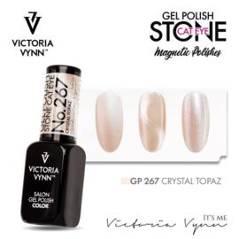 Victoria Vynn Gellak Stone Cat Eye Crystal Topaz - 267 - 8 ml.