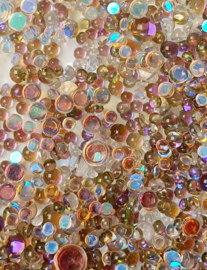 PNS Rhinestone Mermaid Glass 9