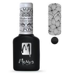 Moyra Stamping Gel Polish Black sgp 01