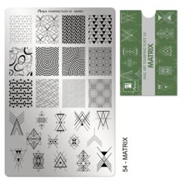 Moyra Stamping Plaat Plaat 54 Matrix