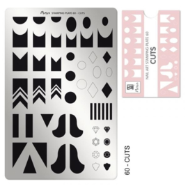 Moyra Stamping Plaat 60 Cuts