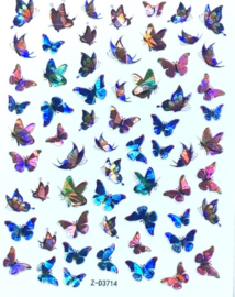 Butterfly Nail art Stickers 5