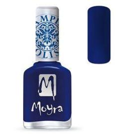 Moyra Stamping Nail Polish Blue 12ml sp05
