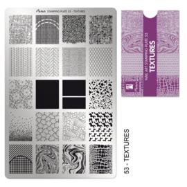 Moyra Stamping Plaat Plaat 53 Textures