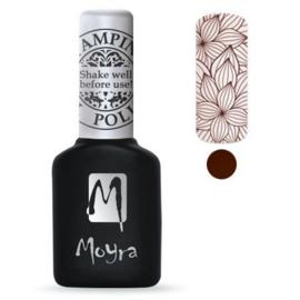 Moyra Stamping Gel Polish Brown sgp 09