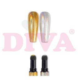 Diamondline Pigment Pen Holographic Laser Silver