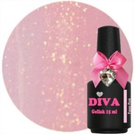 Diva Gel Lak Poppy Pink 15 ml