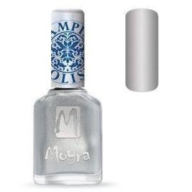 Moyra Stamping Nail Polish Silver 12ml sp08