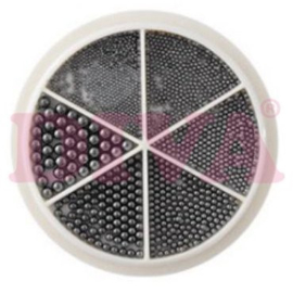 Wiel Nail beads Metal