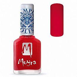 Moyra Stamping Nail Polish Red 12ml sp02