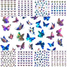 Butterfly  Laser Stickers