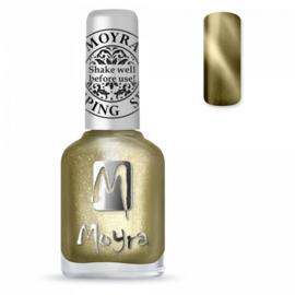 Moyra Stamping Nail Polish Cat Eye Magnetic Gold 12ml sp31