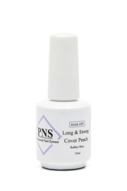 PNS Long & Strong COVER PEACH Rubber Base