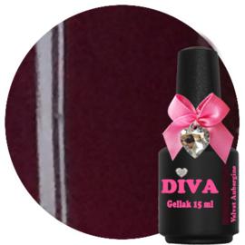 Diva Gel Lak Velvet Aubergine 15 ml