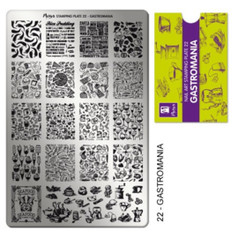 Moyra Stamping Plaat 22 Gastromania