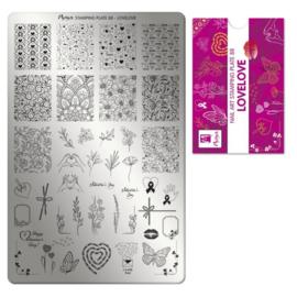 Moyra Stamping Plaat 88 LoveLove