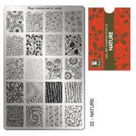 Moyra Stamping Plaat 32 Nature