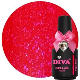 Diva Gellak Sugar Pink 15 ml