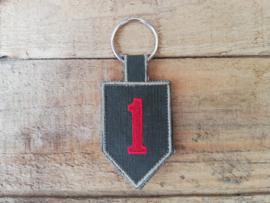 Sleutelhanger 1st Infantry Division