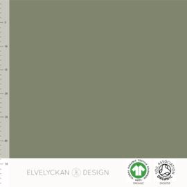 Elvelyckan - Ribbed Knit - Spots - Green